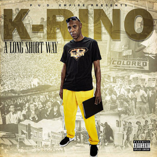 "K-RINO ""A LONG SHORT WAY"" (NEW CD)"