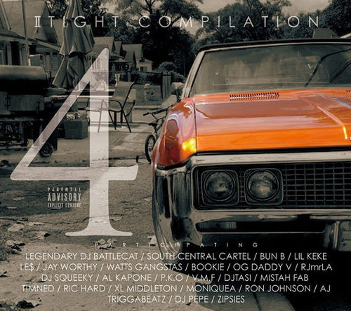 "VARIOUS ""II TIGHT COMILATION 4"" (NEW CD)"