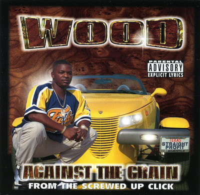 "WOOD (FROM HALF DEAD ORGANIZATION) ""UP AGAINST THE GRAIN"" (NEW CD)"