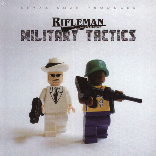 "RIFLEMAN (AKA ELLAY KHULE) ""MILITARY TACTICS"" (NEW CD)"