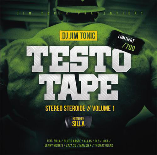 "DJ JIM TONIC ""TESTO TAPE: STEREO STEREOIDE VOL. 1"" (NEW CD)"