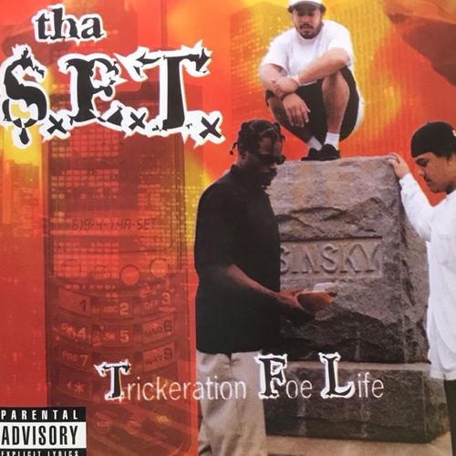 "THA S.E.T. ""TRICKERATION FOE LIFE [GOLD VINYL VERSION]"" (2-LP PREORDER)"