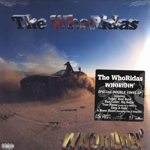"THE WHORIDAS ""WHORIDIN'"" (USED 2-LP)"