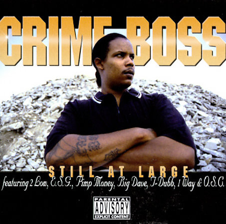 "CRIME BOSS ""STILL AT LARGE"" (USED CD)"